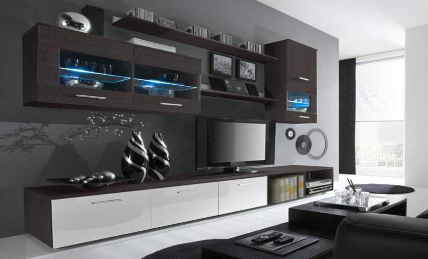 40 Idees Deco Pour Un Salon Moderne Style Meuble Design Decoration Murale