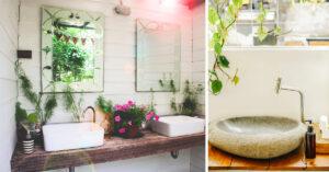Déco salle de bain style naturel