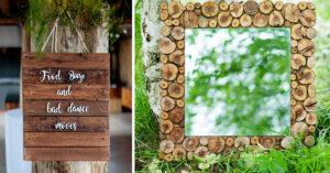 idées deco avec du bois recup.