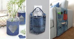 Comment recycler des vieux jeans.