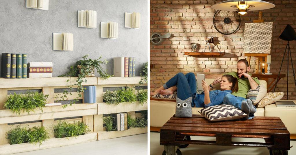 40 idées de meubles en palette de bois pour un intérieur tendance