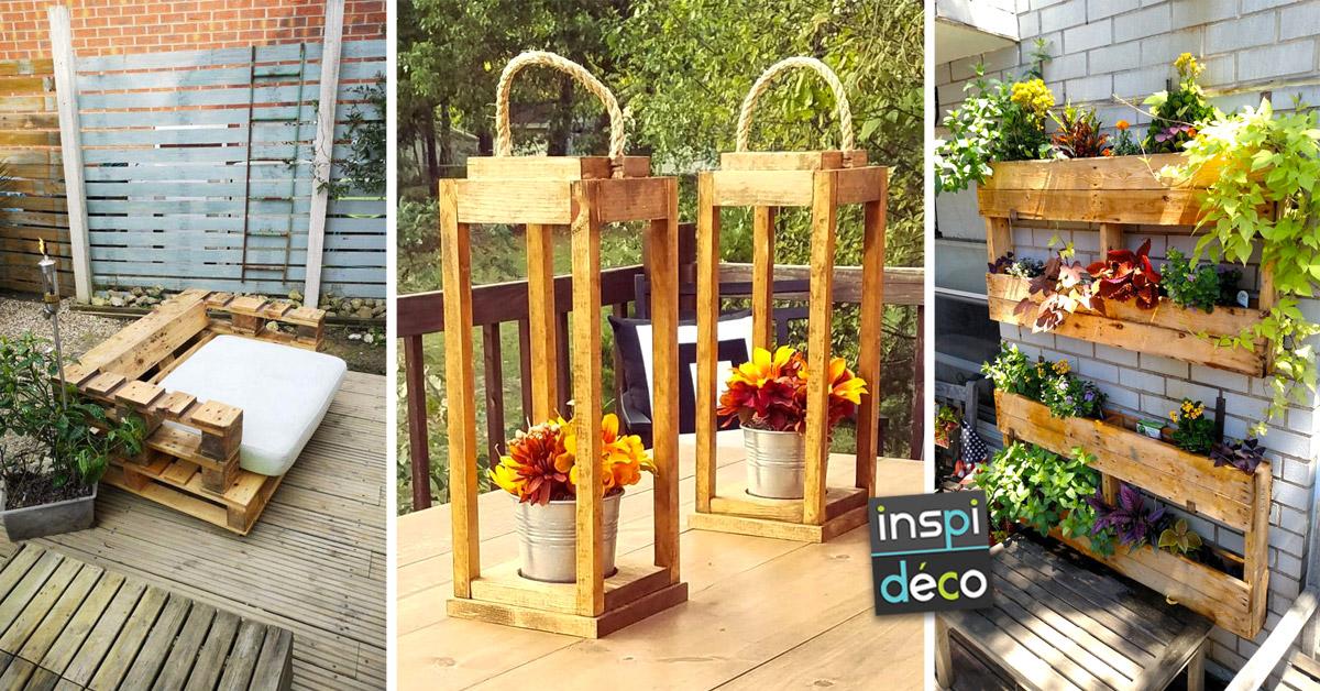 Déco et aménagement DIY pour le jardin