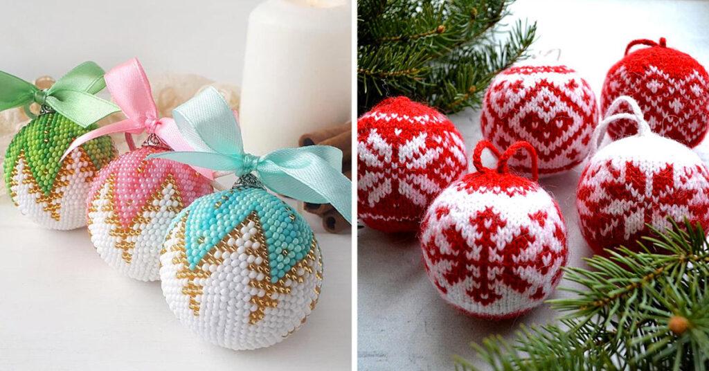 Boules de Noël DIY