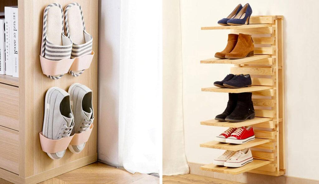 Rangements chaussures astucieux